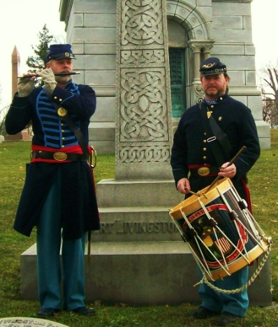 Remembrance Day ceremony, November 20, 2010, Forest Lawn Cemetery